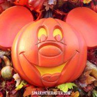 Mickey's Not So Scary Halloween Party Pumpkin Mickey