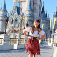 Pirate Costume at Disney World