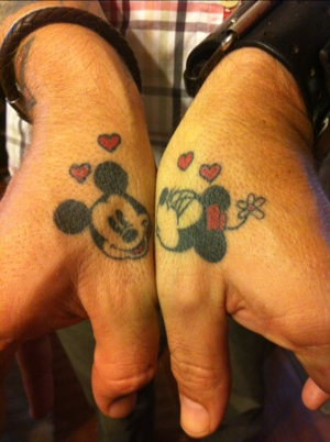 Mickey And Minnie Mouse Couple Tattoo Archidev