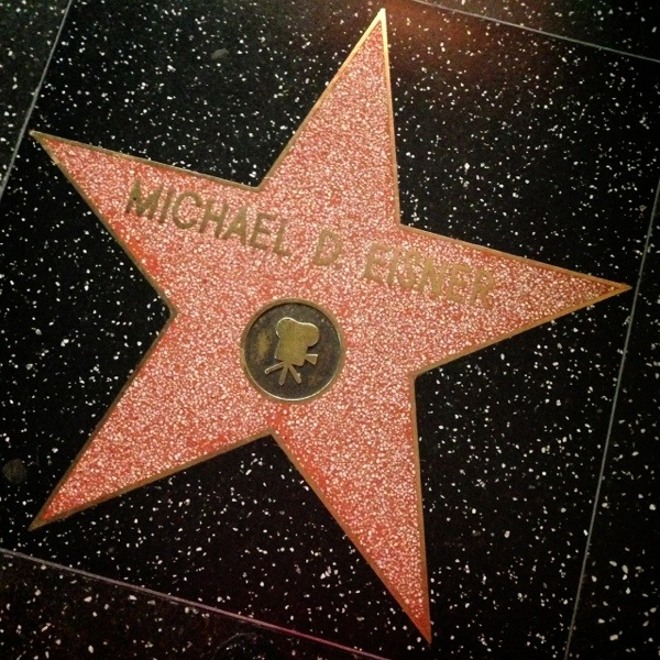 Disney Stars On The Hollywood Walk Of Fame