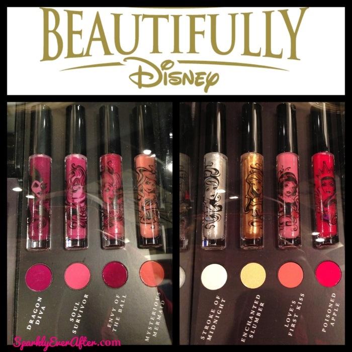 Beautifully Disney Makeup Nail Polish And Lip Gloss