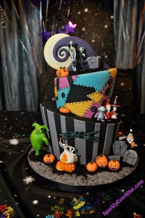 Cakes With Character The Nightmare Before Christmas