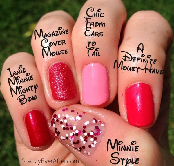 Minnie Mouse & Her Couture de Minnie OPI Nail Polish