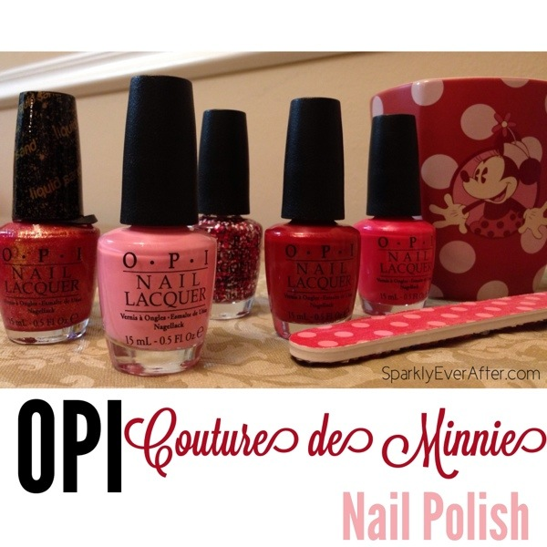 Minnie Mouse Amp Her Couture De Minnie Opi Nail Polish