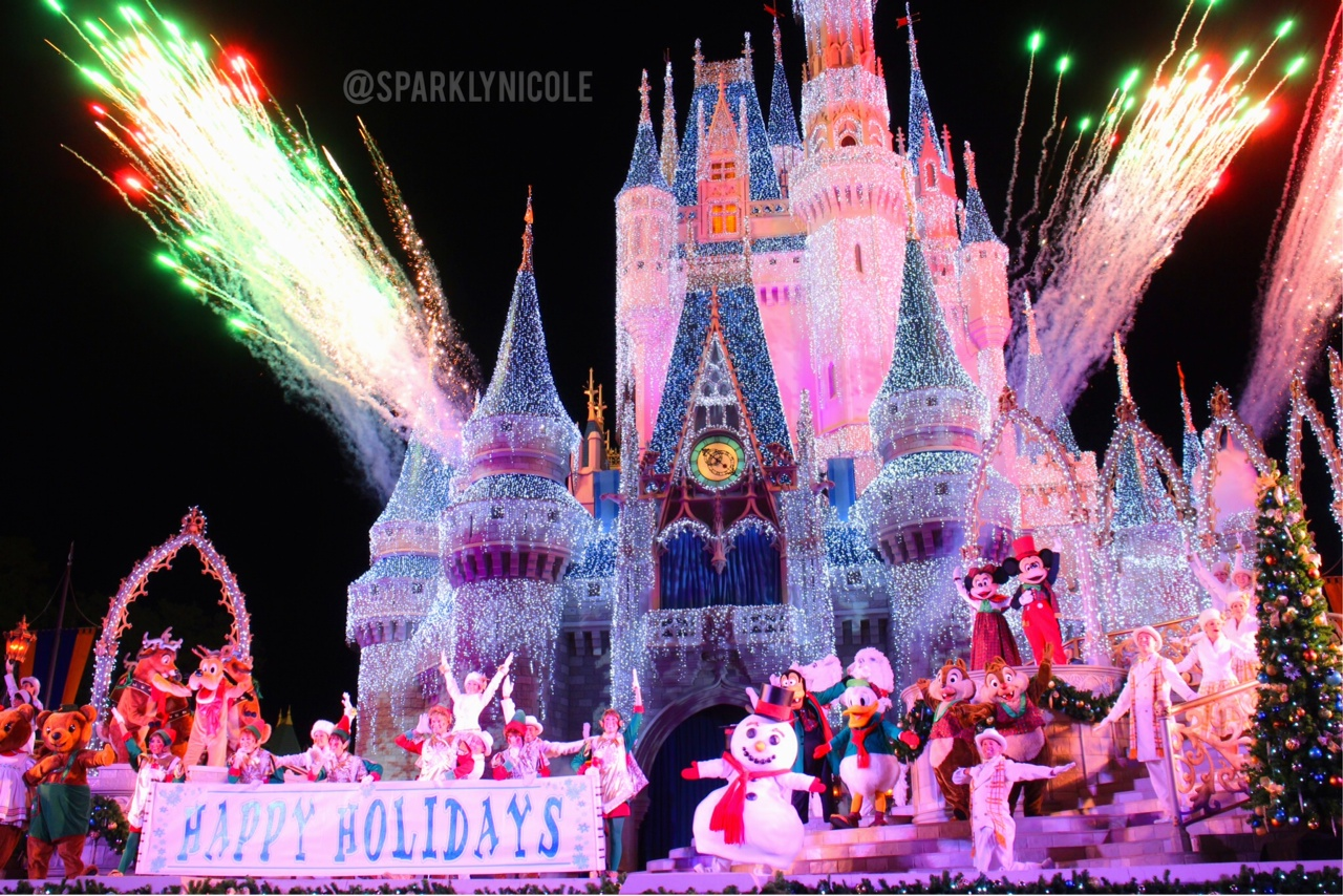 celebrate the season show at mickeys very merry christmas party