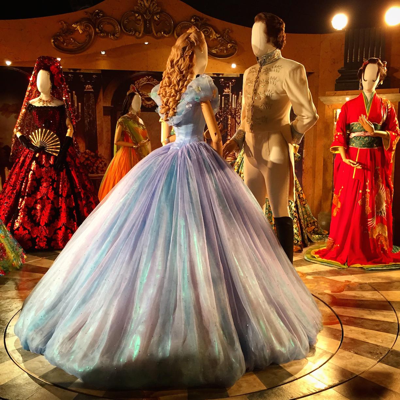 Exhibition Stand Concept : Cinderella costume exhibit in london sparklyeverafter
