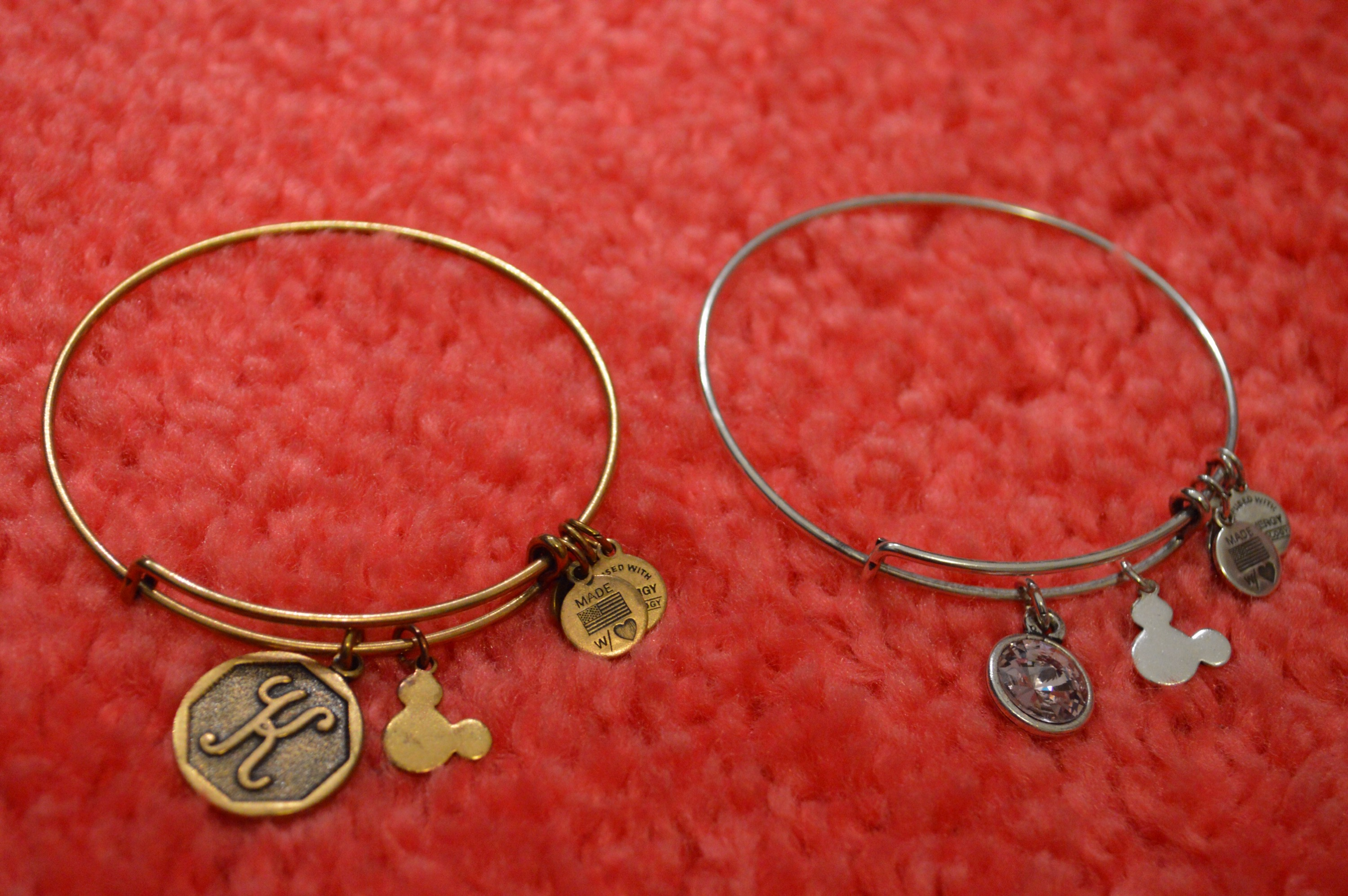 52dcdf318 Both of those also sport a Mickey Mouse charm. I have a Mickey filigree  bracelet that is pretty and elegant. Definitely a subtle way of showing  your Disney ...