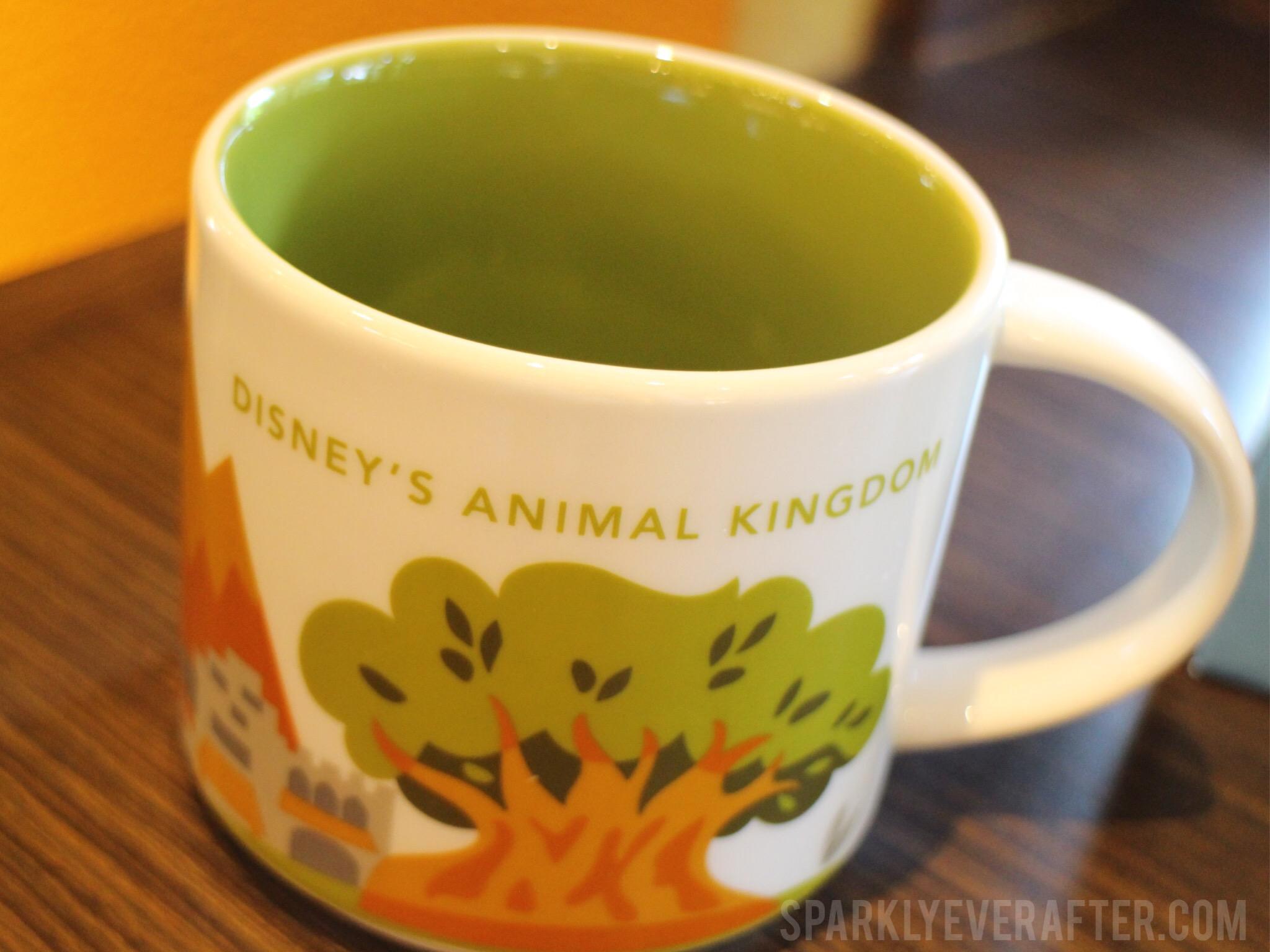 Animal Kingdom Starbucks - SparklyEverAfter.com