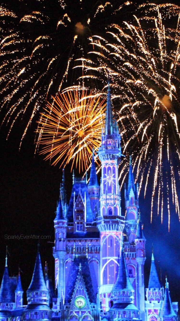 Disney Iphone Wallpapers Sparkly Ever After